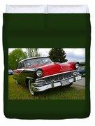 Ford Fairlane Duvet Cover