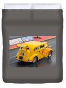 Ford Popular Drag Racer Duvet Cover
