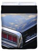 Ford Thunderbird Taillight Duvet Cover