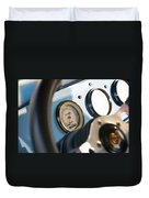 Ford Truck Dashboard Duvet Cover