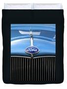 Ford Truck Emblem Duvet Cover