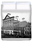 Fords Theater - After Lincolns Assasination - 1865 Duvet Cover