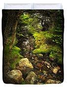 Forest Creek Duvet Cover