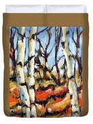 Forest Edge By Prankearts Duvet Cover