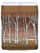 Forest Ghosts Duvet Cover