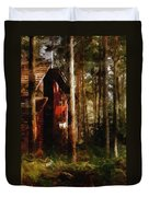 Forest In Fall Duvet Cover