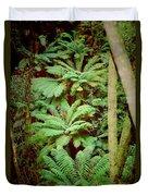 Forest Of Ferns Duvet Cover