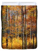 Forest Of Gold Duvet Cover