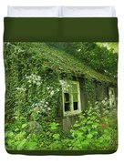 The Forgotten English Cottage Duvet Cover