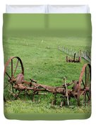 Forgotten Farm Equipment Duvet Cover