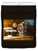 Forgotten Kitchen Of Yesteryear Duvet Cover by Carolyn Marshall