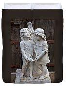Forgotten Statue Duvet Cover