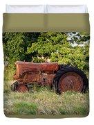 Forgotten Tractor 23 Duvet Cover