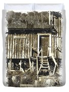 Forgotten Wooden House Duvet Cover