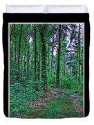 Forrest Trail Duvet Cover