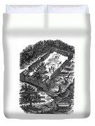 Fort Boonesborough, 1775 Duvet Cover