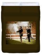 Fort Delaware Military Duvet Cover
