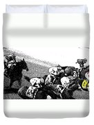 Fort Larned Pulls Ahead Duvet Cover