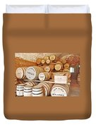 Fort Macon Food Supplies_9070_3759 Duvet Cover