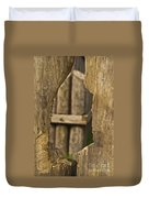 Fort Walls Duvet Cover