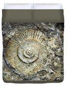 Fossil Geology Duvet Cover