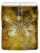 Fossil Gold Duvet Cover