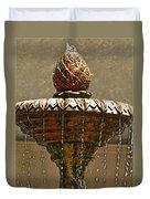 Fountain Art I Duvet Cover