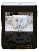 Fountain Face Duvet Cover
