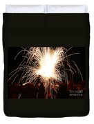 Fountain Of Sparks Duvet Cover