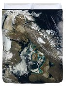 Foxe Basin, Northern Canada Duvet Cover by Stocktrek Images