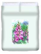 Foxglove Floral Duvet Cover