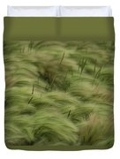 Foxtail Barley And Western Wheatgrass Duvet Cover