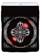Fractal Illumination Duvet Cover