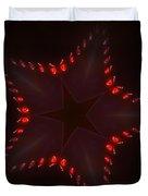 Fractal Star Duvet Cover