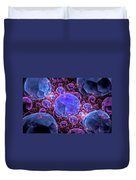 Fractals Jewels Duvet Cover