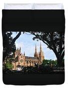 Framed Cathedral Duvet Cover