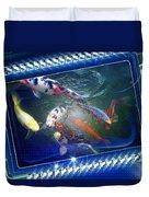Framed Coy  Duvet Cover