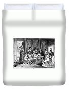France: Consulate Life Duvet Cover