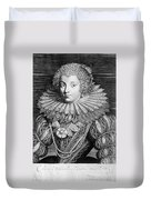 France: Noblewoman Duvet Cover