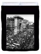 France: Strike, 1968 Duvet Cover