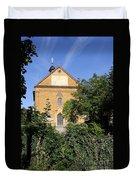 Franconian Village Church Duvet Cover