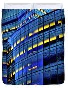 Frank Gehrys Iac Building Duvet Cover