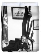 Franklin D. Roosevelt, 32nd American Duvet Cover