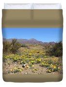 Franklin Mt. Poppies Duvet Cover