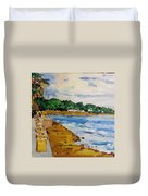 Frederiksted By The Pier Duvet Cover