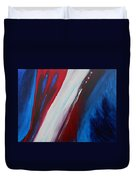 Freedom Of Abstraction Duvet Cover