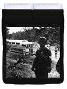 Freedom Riders, 1961 Duvet Cover