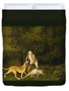 Freeman - The Earl Of Clarendon's Gamekeeper Duvet Cover