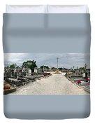 French Cemetery  Duvet Cover