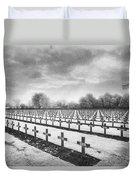 French Cemetery Duvet Cover by Simon Marsden
